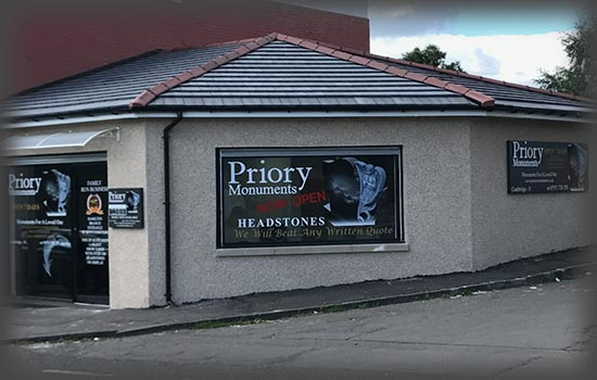Priory Monuments Coatbridge